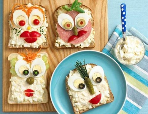 Открытые бутерброды из цикла «Домашний пир»