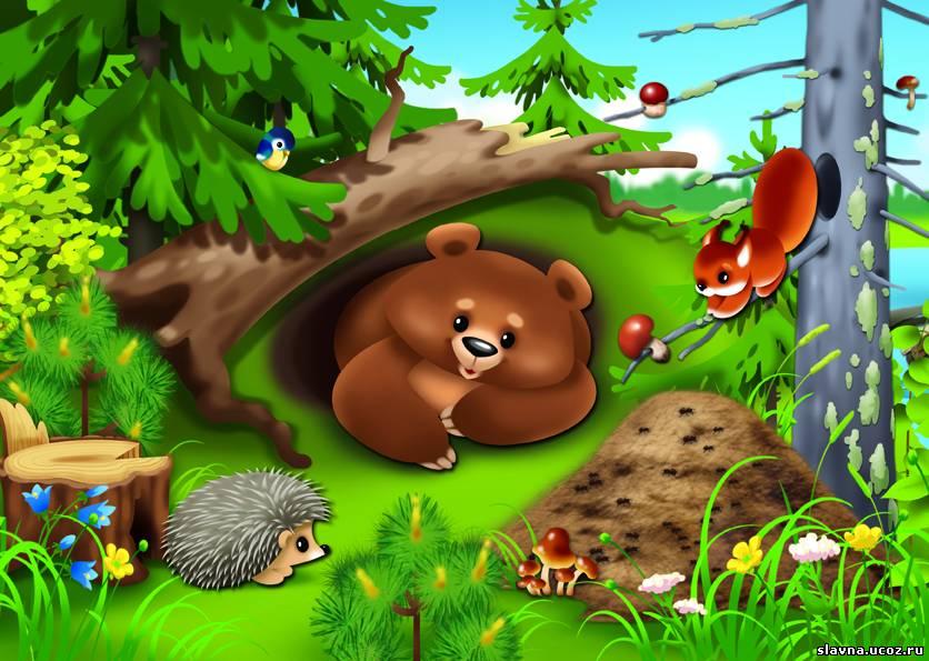 «Лес – наш дом, наведём порядок в нём» из рубрики Олюшкины сказки.