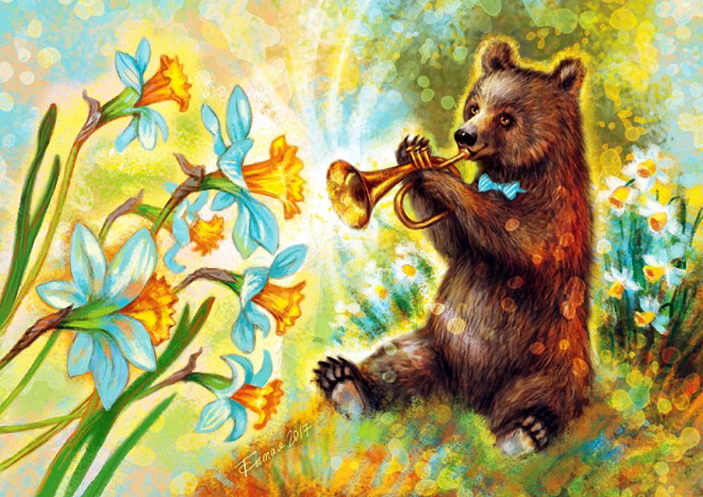 «Все цветы в гости к нам» из рубрики Олюшкины сказки.