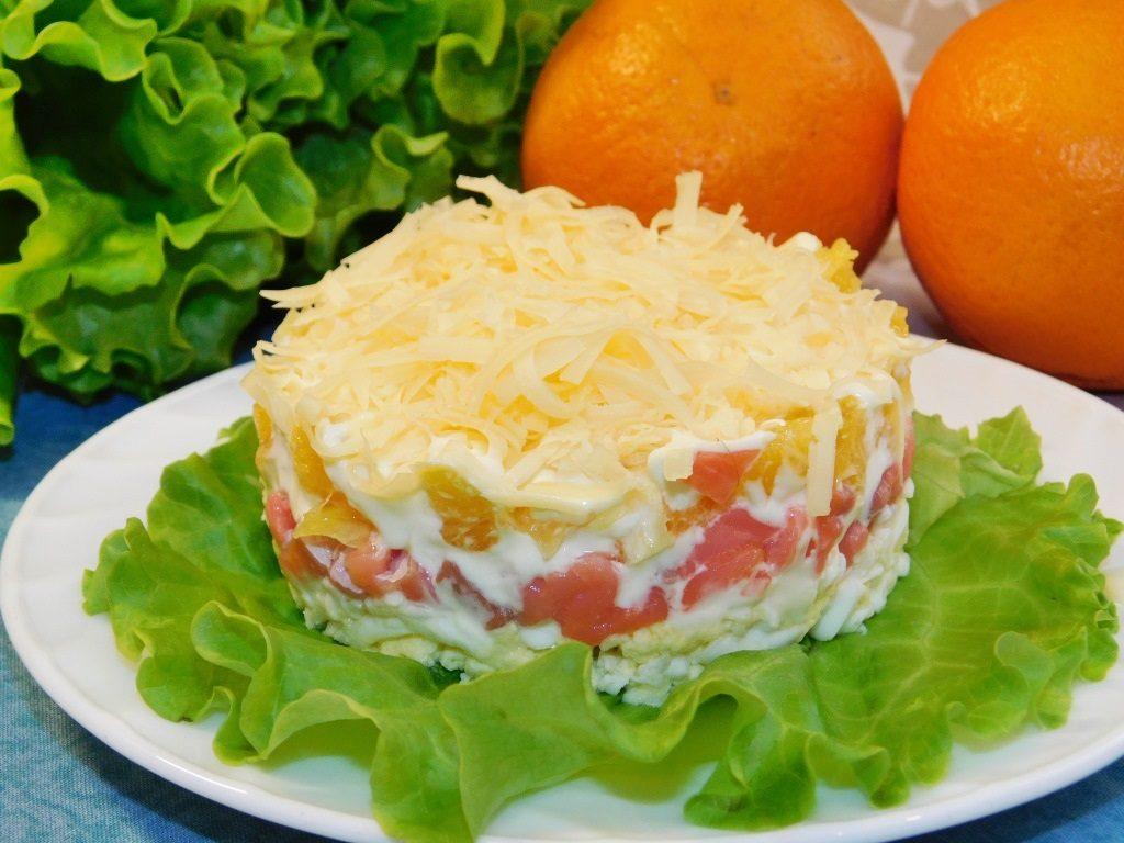 «Кулинарные фантазии» из красной рыбы, рубрика Домашний пир