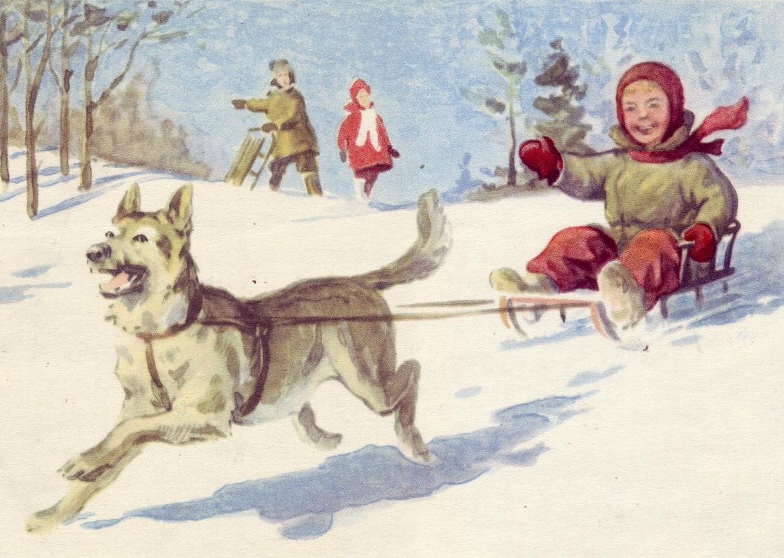 «Зимние забавы»истории дедушки Матвея из рубрики Олюшкины сказки