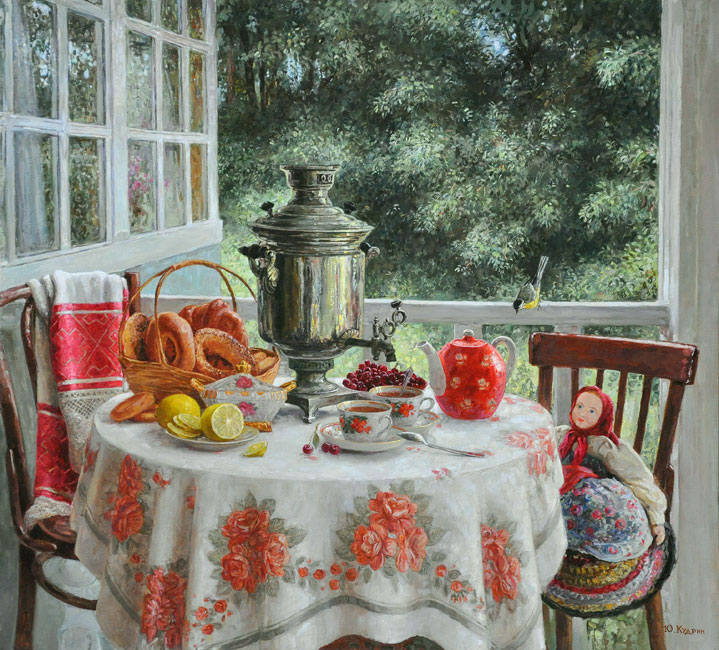«Пахнет лето огурцами, ягодами и цветами… из рубрики Домашний пир